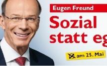 [AT] SPÖ - Eugen Freund, Spitzenkandidat