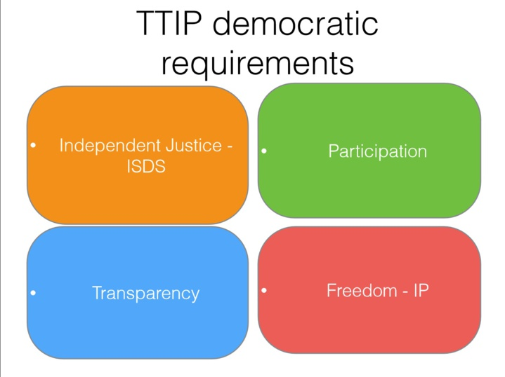 Transeuropean Political Meeting Berlin, July 5th 2014: TTIP