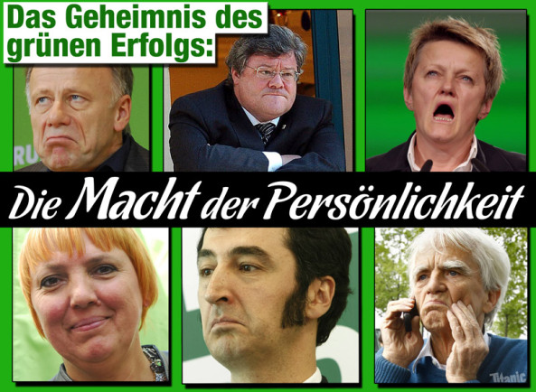 Traitors to democracy: Harms, Bütikofer, Cohn-Bendit (die Grünen)