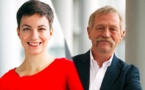 "Copie de Congrats! Franziska (Ska) Keller and José Bové : finally a "" team"" at the head of a European list for the next EParliament elections ."