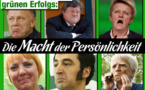 Traîtres à la démocratie: Harms, Bütikofer, Cohn-Bendit (Die Grünen)